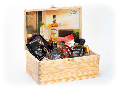 Gift box Jack Daniels party